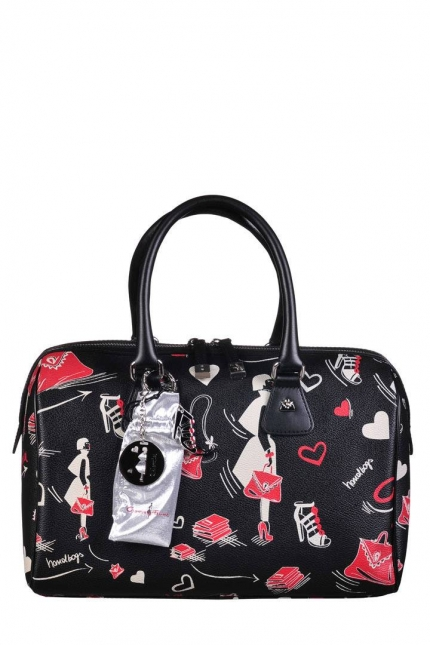 Женская сумка Cromia, CR1400489 nero femme, черный