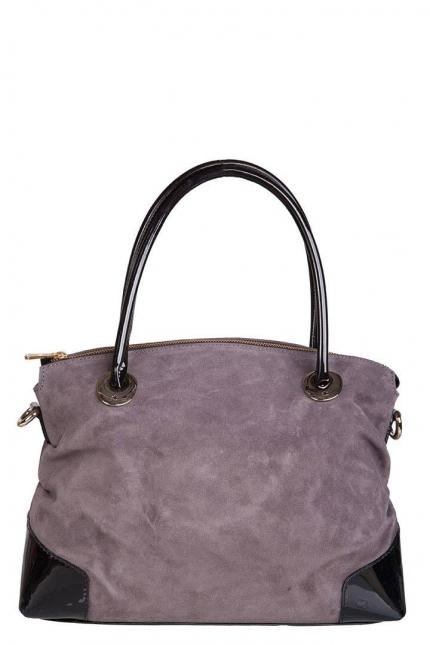 Женская сумка Di Gregorio, DG 3114 grigio camoscio v, серый