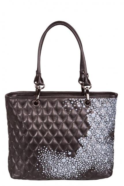 Женская сумка Marina Creazioni, B1919/doppio nero romi te, черный