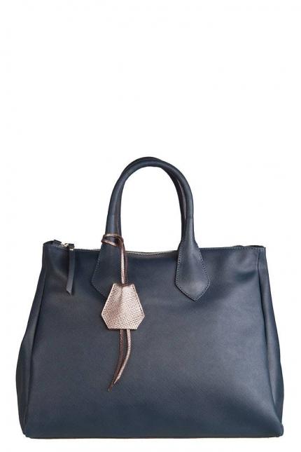 Женская сумка Gianni Chiarini, BS1391 SAF navy/champagne, синий
