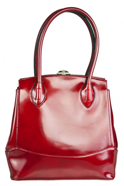 Женская сумка Carlo Salvatelli, CS 8030 cherry London, вишневый