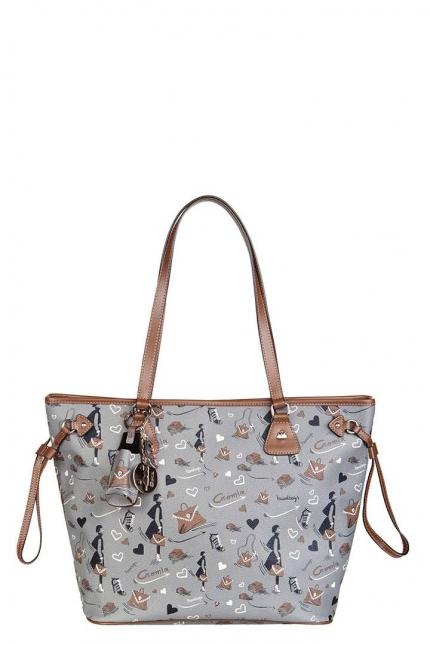 Женская сумка Cromia, CR1400815 grigio femme pu, серый