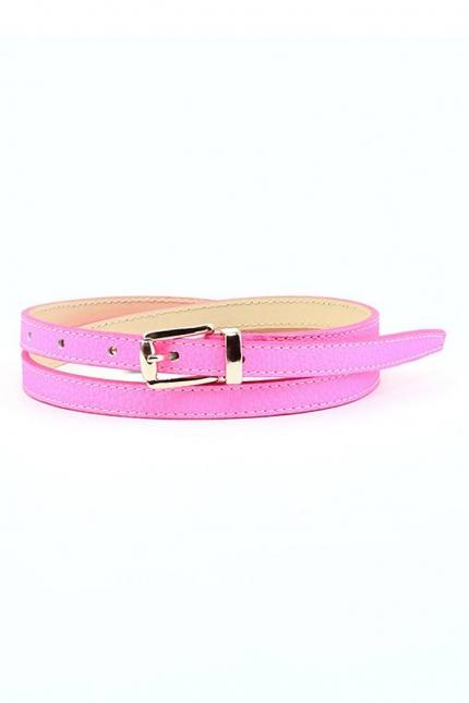 Ремень женский Marina Creazioni F2295-15 fuxia fluo cervo, розовый