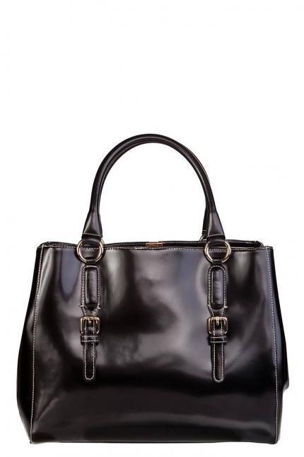 Сумка женская Carlo Salvatelli CS 8090 nero London, черная