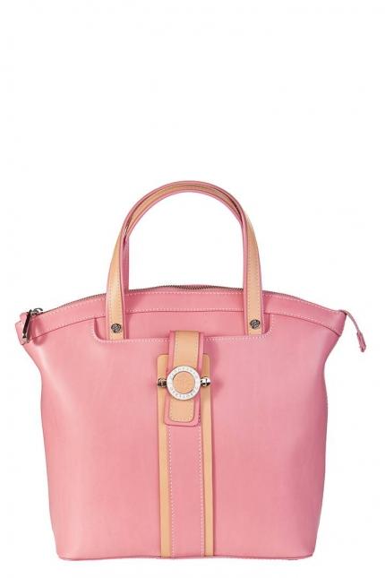 Сумка женская Capoverso CV34173 confetto/naturale, розовая