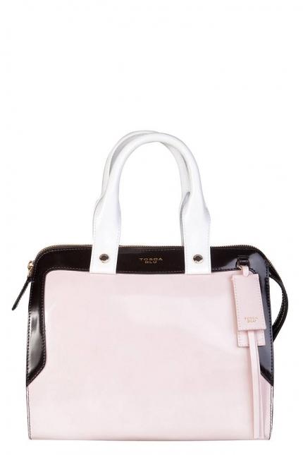 Сумка женская Tosca Blu TS13WB343 rosa/nero/bianc, розовая