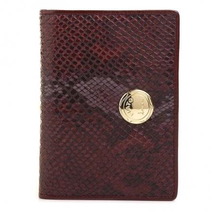 Обложка для документов fiato из натуральной кожи, красная, 7FD_red