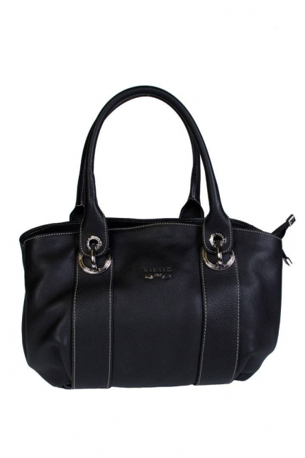 Женская сумка Marina Creazioni, B2010 nero dream+piombo, черный
