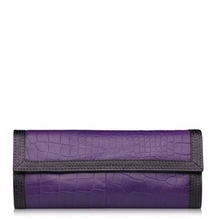 Клатч женский, фиолетовый, B00370-violet