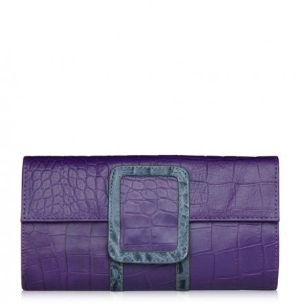Клатч женский, фиолетовый, B00371-violet