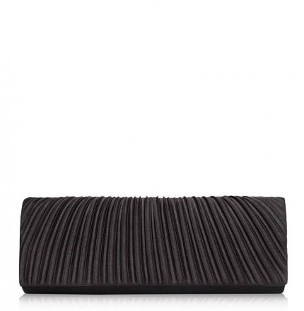 Клатч текстильный, черный, K00255-black