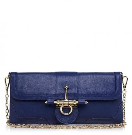 Клатч женский, синий, K00322-blue