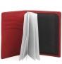 Обложка для документов fiato из натуральной кожи, красная, 097(F16G-68J)