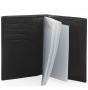 Обложка для документов fiato из натуральной кожи, черная, 097(FC-10J)