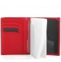 Обложка для документов fiato из натуральной кожи, красная, 097(FC-68J)