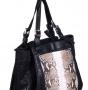 Женская сумка Gianni Chiarini, BSH13 BIL-ANA nero-sasso, черный