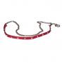 Ремень женский Marina Creazioni C3040-10 rosso ab+oro/pla, красный