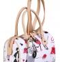 Женская сумка Cromia, CR1400488 bianco/naturale, белый