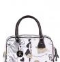 Женская сумка Cromia, CR1400503 beige/t.moro fe, белый