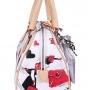 Женская сумка Cromia, CR1400503 bianco/naturale, белый
