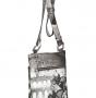 Сумка женская Acquanegra, ACQ007 M33 stampe pelle, мультиколор