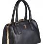 Женская сумка Carlo Salvatelli, CS 8012 nero ruga oro ch., черный