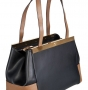 Женская сумка Carlo Salvatelli, CS 8043 nero rip.kaky rug, черный