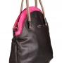Женская сумка Marina Creazioni, B2266 nero adria+orchidea, черный