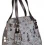 Женская сумка Cromia, CR1400804 grigio/nero fem, серый