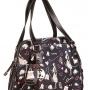Женская сумка Cromia, CR1400804 nero femme pu, черный