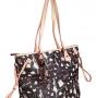 Женская сумка Cromia, CR1400815 nero/naturale f, черный