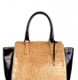 Женская сумка Innue, INN Q361 beige/nero var3, бежевый