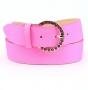 Ремень женский Marina Creazioni F1152-40 fuxia fluo cervo, розовый