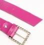Ремень женский Marina Creazioni F1930-40 fuxia laccato or, розовый