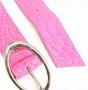 Ремень женский Marina Creazioni F2041-40 fuxia vertigo or, розовый