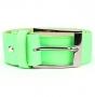 Ремень женский Marina Creazioni F2312-40 verde fluo cervo, зеленый