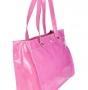 Сумка женская Di Gregorio DG 1301 fuxia vernice, розовый