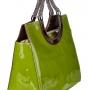Сумка женская Carlo Salvatelli CS 8085 verde 5390 vernic, зеленая