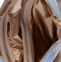 Сумка женская Capoverso CV34180 beige ottawa tric, бежевая