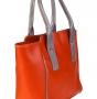 Сумка женская Capoverso CV34222 arancio/grigio lh, рыжая