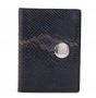 Обложка для документов fiato из натуральной кожи, синяя, 7FD_blue
