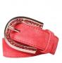 Ремень женский Marina Creazioni F1997-30 cam.rosso oro/pl, красный
