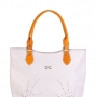 Женская сумка Marina Creazioni, B1940 bianco/fuxia elite+, белый