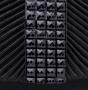 Клатч текстильный, черный, K00418-black