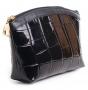 Косметичка Fiato из натуральной кожи, черная, 2901
